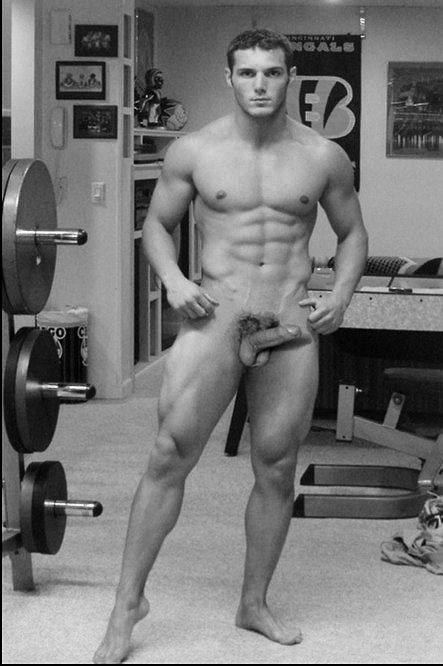 naked weight lifters men
