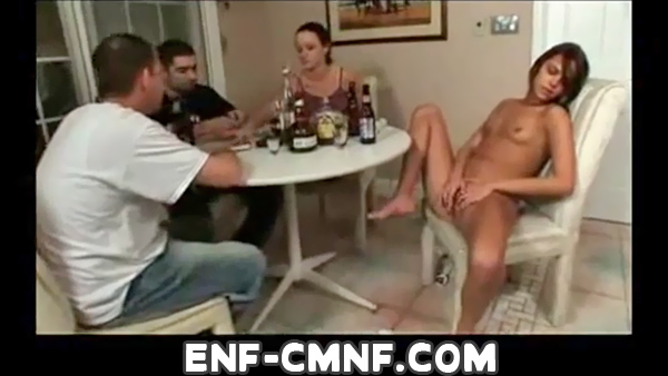 wife nude in front of other men