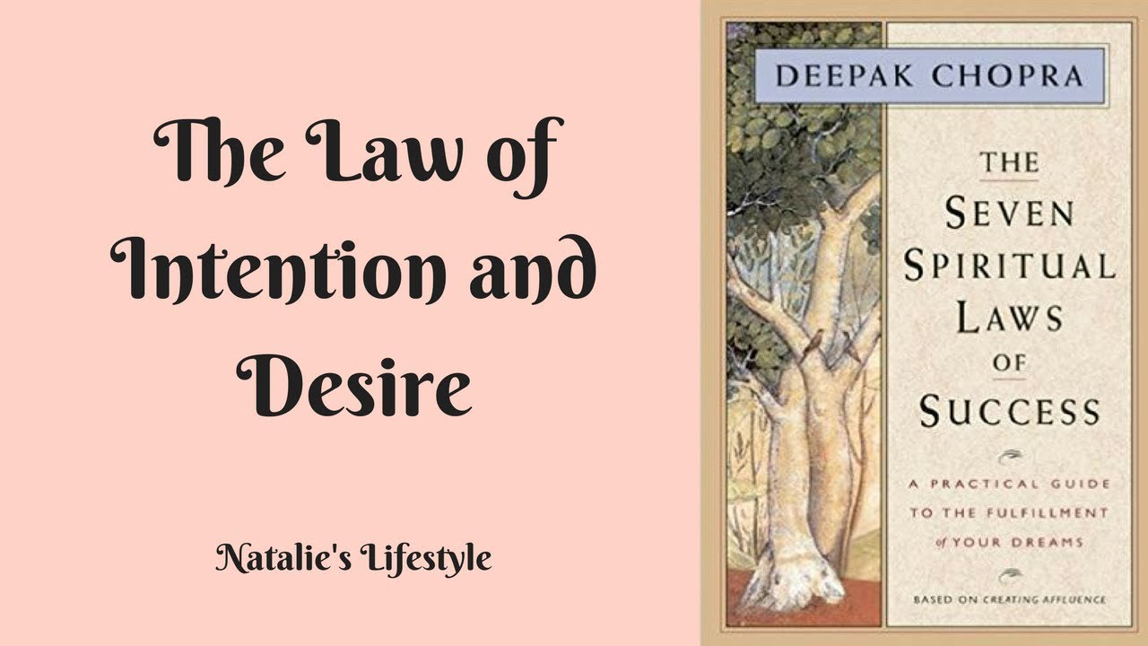 law of intention and desire