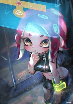 sexy inkling girl